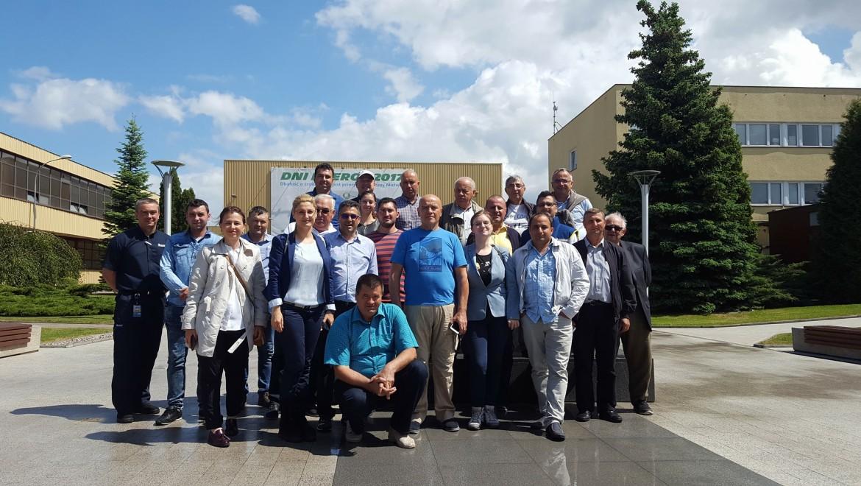 30 mai- 2 iunie 2017- Schimb de experinţă între fermierii români şi plonezi/ Vizită la fabrica Michelin